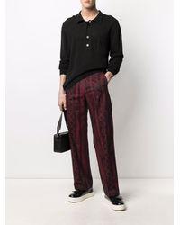 Aries Tailored Column Jacquard Trousers