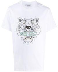 KENZO Tiger T-shirt - White
