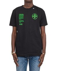 Off-White c/o Virgil Abloh Arch Shapes T-shirt - Black