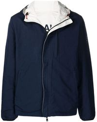 Ecoalf Reversible Hooded Jacket - Blue