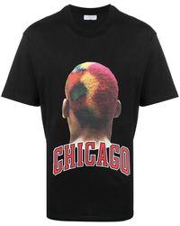 ih nom uh nit Chicago T-shirt - Black