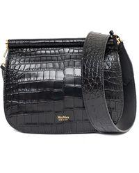 Max Mara Leather Cross-body Bag - Black