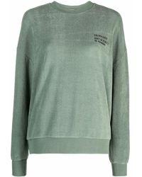 Golden Goose Stretch Cotton Sweatshirt - Green