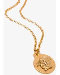 Versace COLLANA 'MEDUSA' - Metallizzato