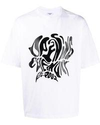 Opening Ceremony T-shirt stampa logo - Bianco