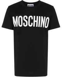 Moschino T-SHIRT LOGO - Nero