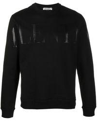 Valentino Logo Sweatshirt - Black