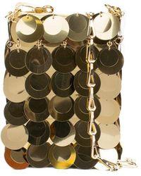 Paco Rabanne Sparkle Mini 1969 Bag - Metallic