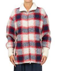 Étoile Isabel Marant - Checked Wool-blend Jacket - Lyst