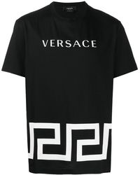 Versace - T-SHIRT LOGO - Lyst