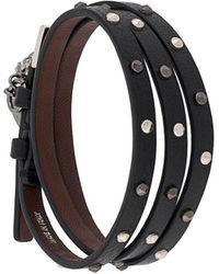 Alexander McQueen 'skull' Bracelet - Black