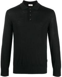 Z Zegna Buttons Jumper - Black