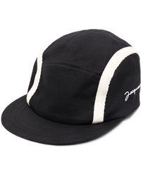 Jacquemus Embroidered-logo Baseball Cap - Black