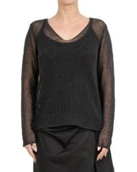 Max Mara - Cotton Blend Sweater - Lyst