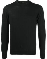 Tagliatore Fine Knit Sweater - Black