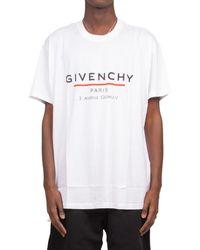Givenchy Printed Oversized T-shirt - White