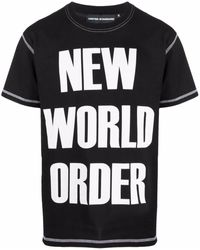 United Standard Printed T-shirt - Black