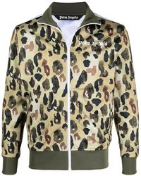 Palm Angels - Camouflage-print Track Jacket - Lyst