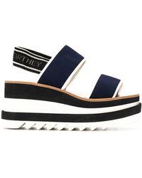 Stella McCartney Elyse Platform Sandals - Blue