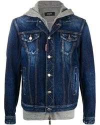 DSquared² - GIACCA DENIM 'ICON' - Lyst