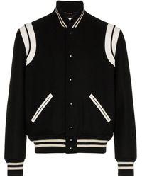Saint Laurent 'teddy' Jacket - Black