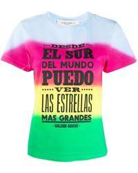 """Golden Goose Deluxe Brand T-shirt """"ania"""" Multicolore - Multicolour"""