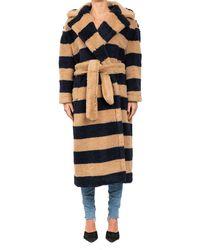Max Mara Cappotto Teddy in alpaca, lana e seta - Multicolore