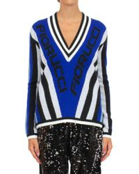 Fiorucci Blue Wool Sweater