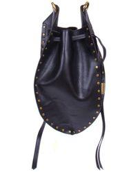 Isabel Marant Radja Bucket Bag - Black