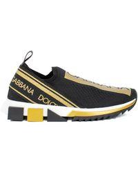 Dolce & Gabbana 'sorrento' Sneakers - Black