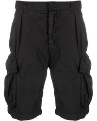 Off-White c/o Virgil Abloh Cargo Shorts - Black