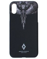 Marcelo Burlon 'black Wings' Xs Cover