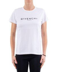 Givenchy Cotton Jersey T-shirt - White