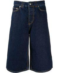 Ganni Denim Shorts - Blue