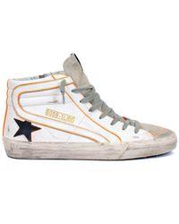 Golden Goose Deluxe Brand 'ballstar' Sneakers - White