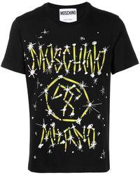 Moschino - Printed T-shirt - Lyst