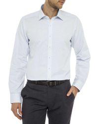 Geoffrey Beene - Watergate Dobby Stretch Collar Slim Fit Shirt - Lyst