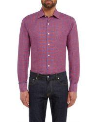 Chester Barrie - Linen Shirt - Lyst