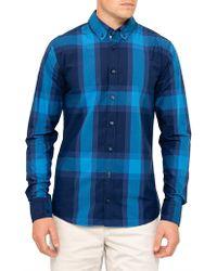 BOSS by Hugo Boss - Epreppy_1 Cotton L/s Stripe Shirt - Lyst