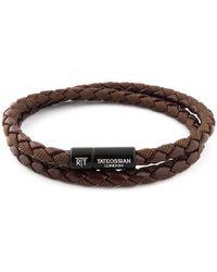 Tateossian Chelsea Bracelet - Brown