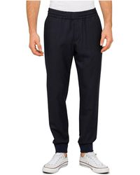 PS by Paul Smith - Elasticated Waist Draw Cord Trouser - Lyst
