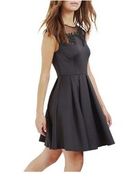 Ted Baker - Dollii Emb Cut Out Dress - Lyst