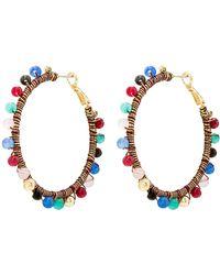 Rebecca Minkoff - Morocco Hoop Earrings (c/o) - Lyst
