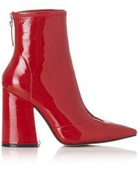 Alias Mae - Ahnika Stretch Patent Boot - Lyst
