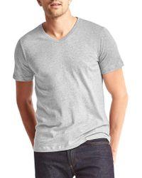 Gap - Essential Short-sleeve V-neck T-shirt - Lyst