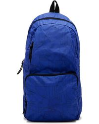 Armani Jeans - Printed Nylon Packable Backpack - Lyst 7241d0d70876b