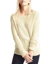 Gap - Chunky Pointelle Sweater - Lyst