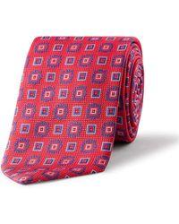 Eton of Sweden - Floral Tie - Lyst