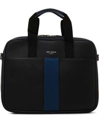 Ted Baker - Pu Webbing Small Flight Bag - Lyst