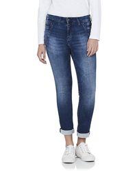 Mavi Mira Low Rise Slouchy Boyfriend Jeans - Blue